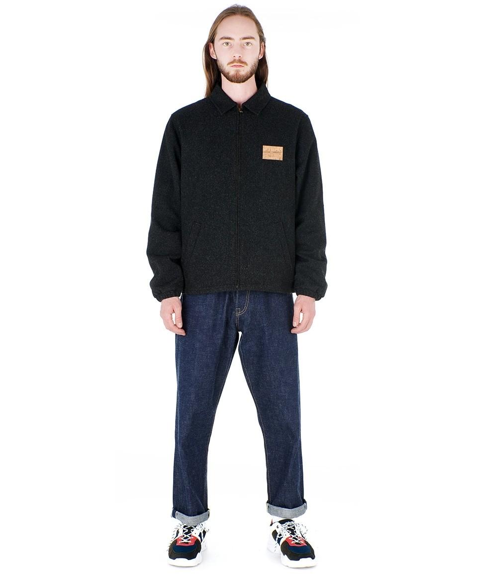 Straight Flannel Jacket