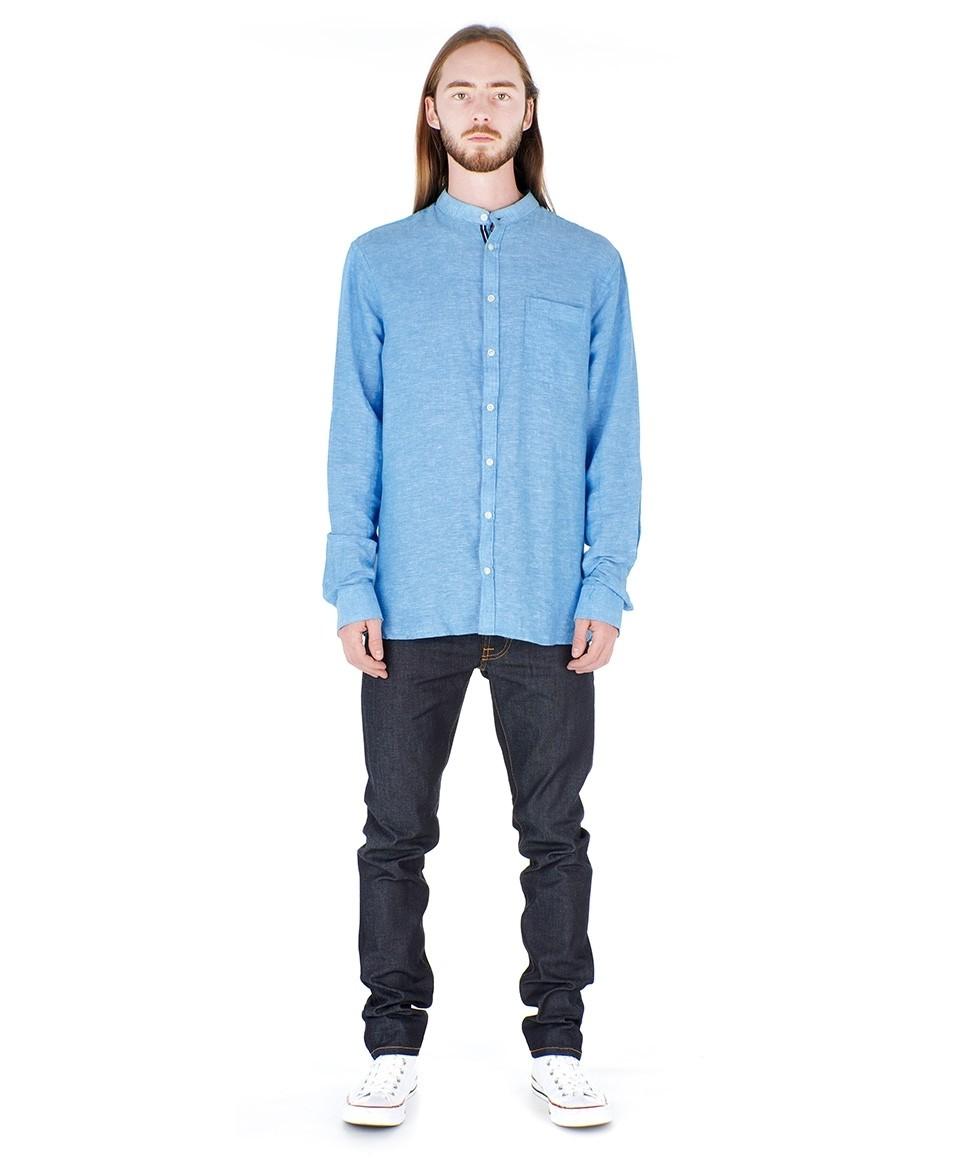 Mandarin Collar Shirt