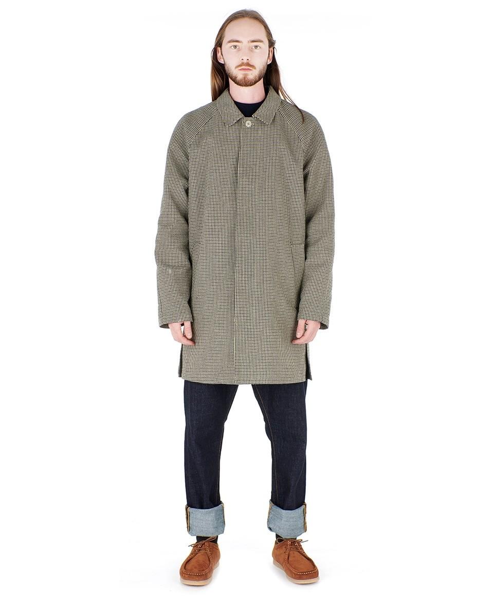 Checked Overcoat