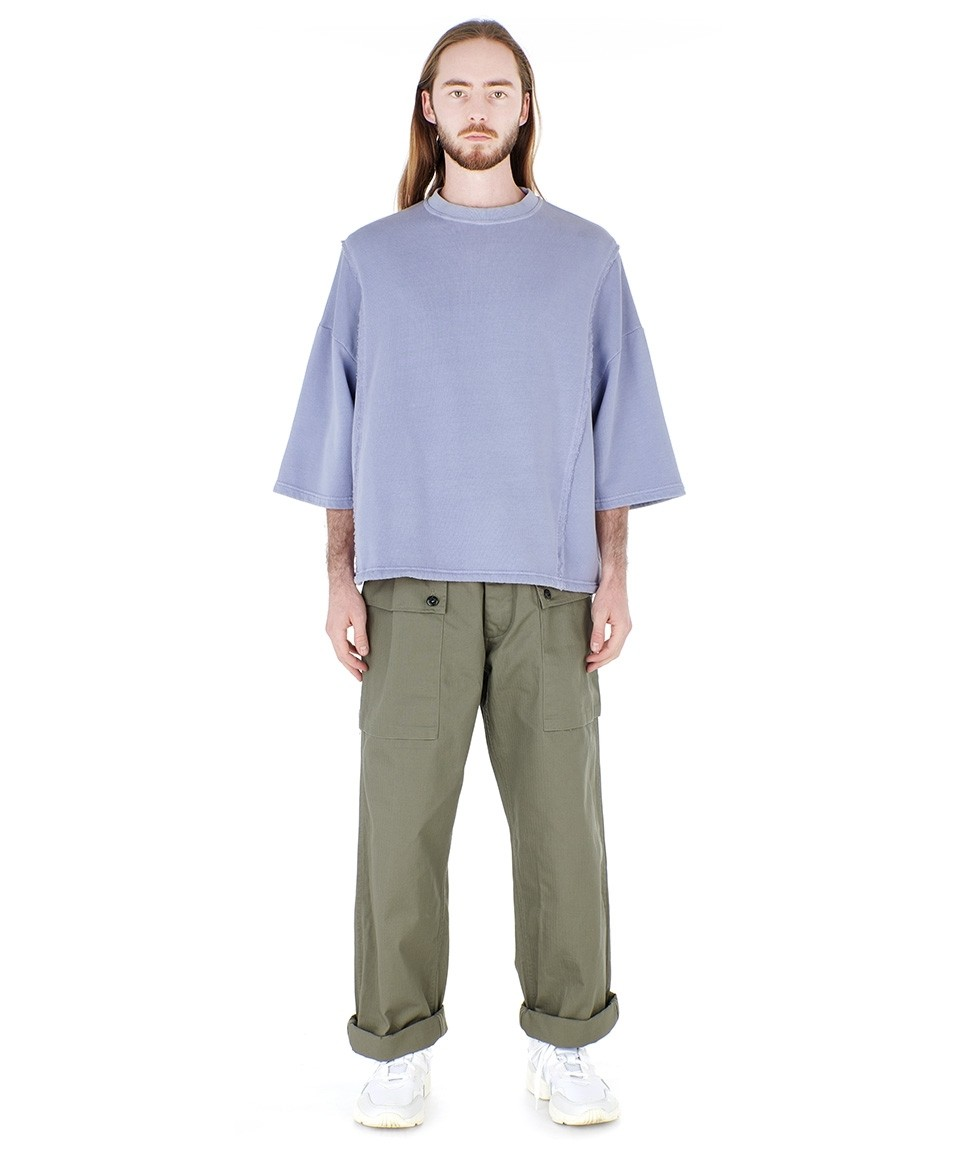 Short Sleeved Sweatshirt