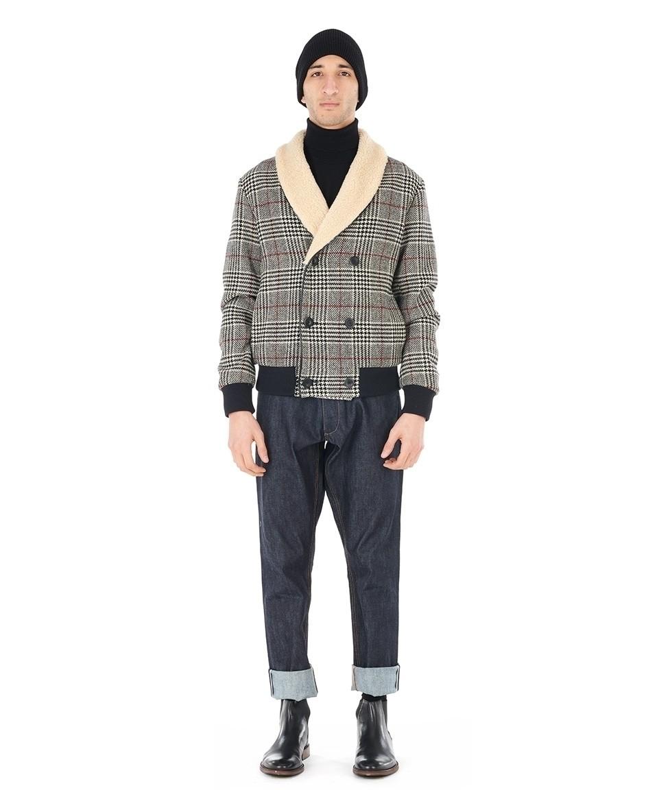 Prince of Wales Wool Jacket
