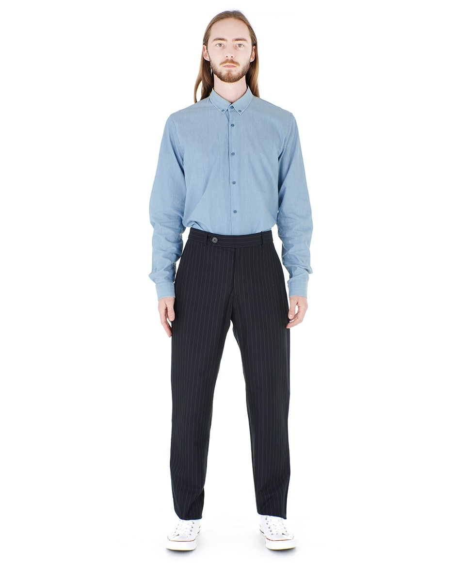Straight, Striped Trousers