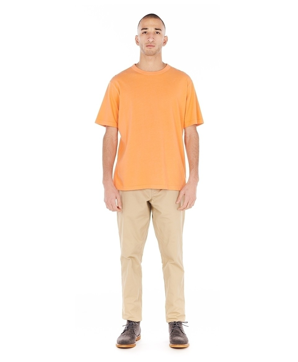 Tee-shirt over dyed