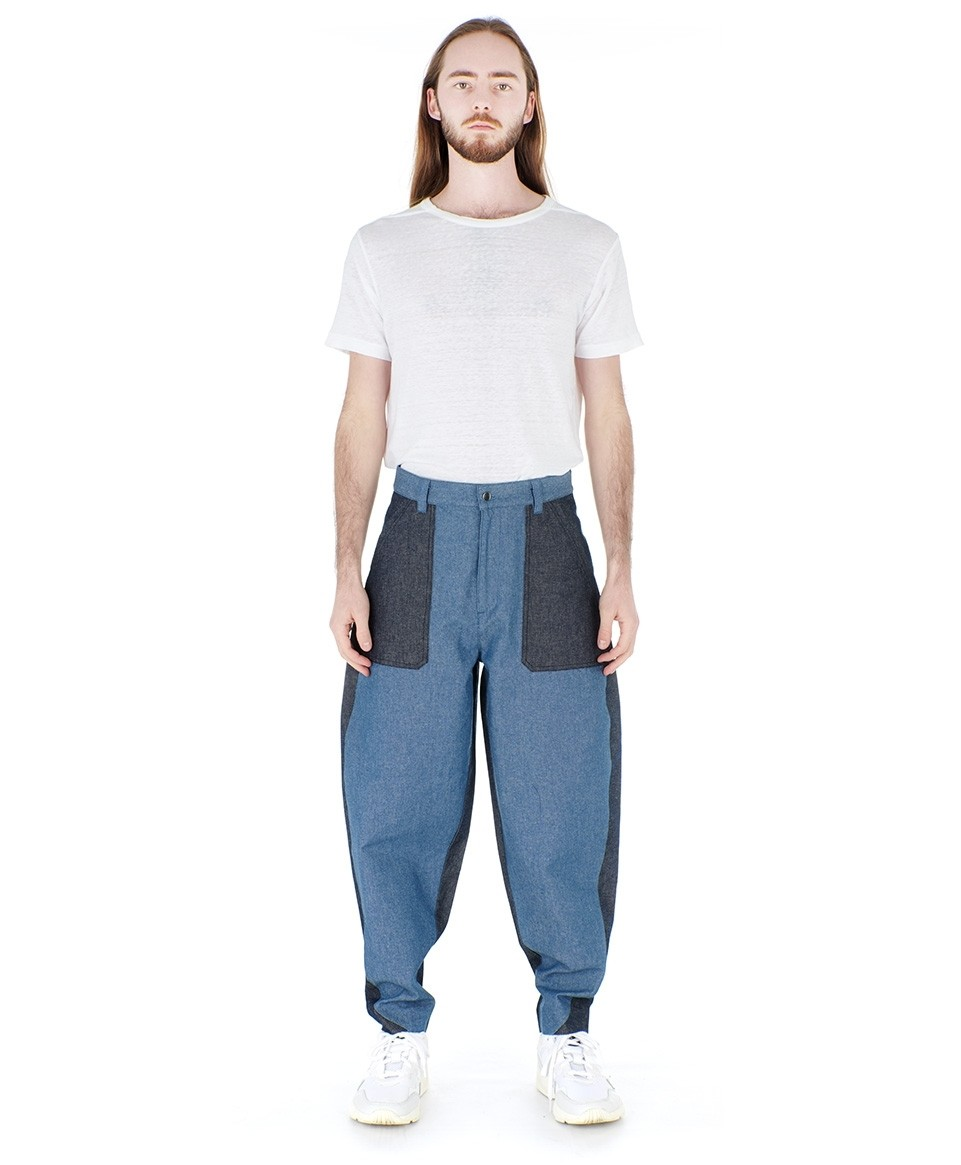 Colourblock Jeans